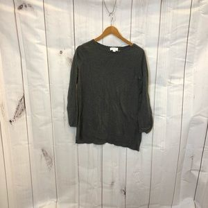 ELLE Sweater with Lace Back Accent